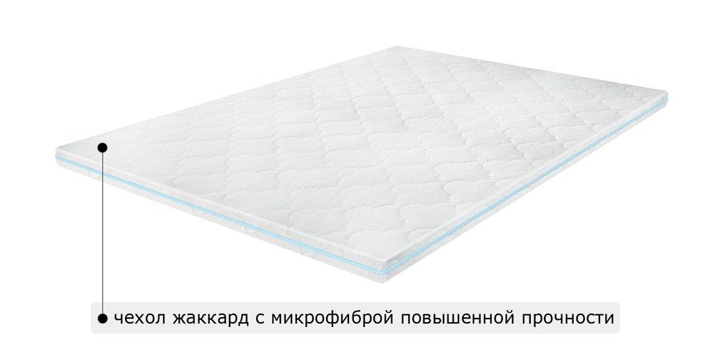 Матрас топпер MEMO 2in1 FLEX / МЕМО 2в1 ФЛЕКС 1