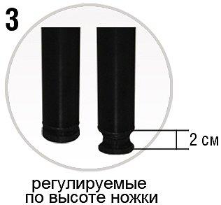 Каркас на ножках с регулятором жесткости VIVA STEEL plus 4